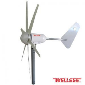 WS-WT 300W WELLSEE 6 leaves Wind Turbine/ horizontal axis wind turbine