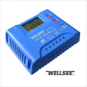 WS-SC2440U  30A 12/24V wellsee solar three stage charge and discharge controller